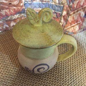 Unique Tea Mug with beautiful Lid